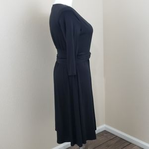 Coldwater Creek Dresses - Coldwater Creek Black Dress SZ 14